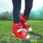 Preview: Festival Schuhe Rot