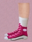 Preview: Silly Socks Turnschuhe Style Pink
