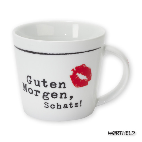 Sheepworld Tasse Guten Morgen Schatz