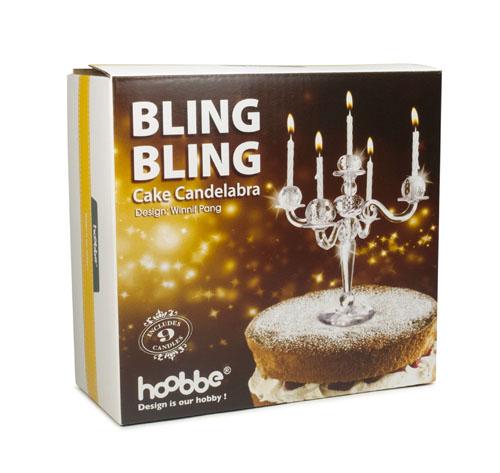 "/""Bling Bling/"" Kerzenständer für Kuchen"