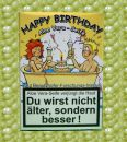 Lustige Seife mit Aloe Vera HAPPY BIRTHDAY